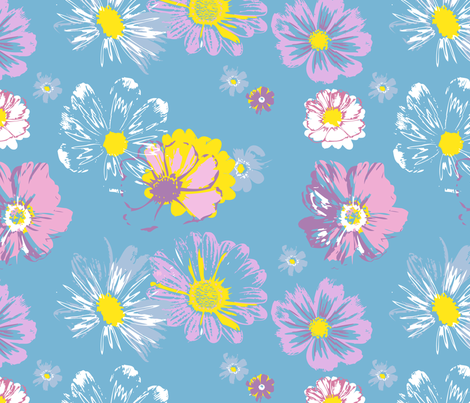 summer fabric by mandyh on Spoonflower - custom fabric
