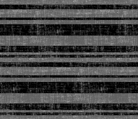 Weathered Stripes - Gray fabric by owlandchickadee on Spoonflower - custom fabric