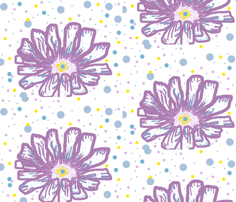 bee_smiles's Urban Zenia fabric by bee_smiles on Spoonflower - custom fabric