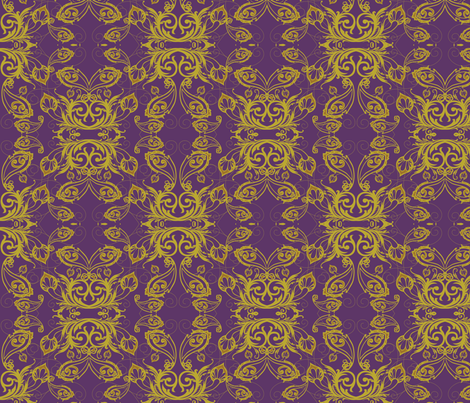 paisley_repeat fabric by locamode on Spoonflower - custom fabric
