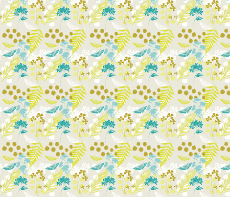 hymn_folliage_swatch fabric by locamode on Spoonflower - custom fabric