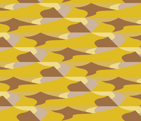 Dunes and Valleys fabric by kgalal on Spoonflower - custom fabric