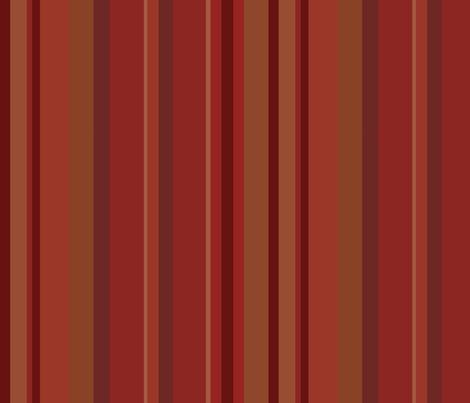 Arabesque Red Stripe fabric by poetryqn on Spoonflower - custom fabric