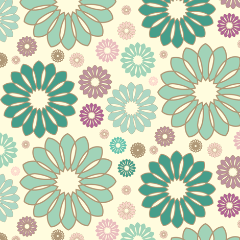 La Isla Bonita fabric by elvett11 on Spoonflower - custom fabric