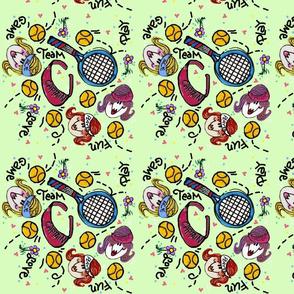 Sport Tennis Girl