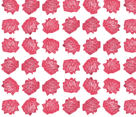 Roses fabric by leonielovesyou on Spoonflower - custom fabric