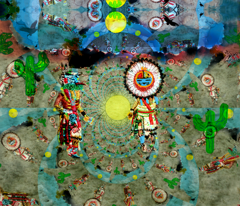 Kachina Dancers- life forces of the cosmos