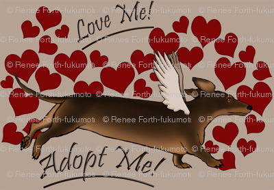 Adopt Me Dachshunds Light ORDERED