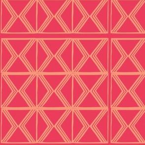 AfroModern No.3 (Red Pepper)