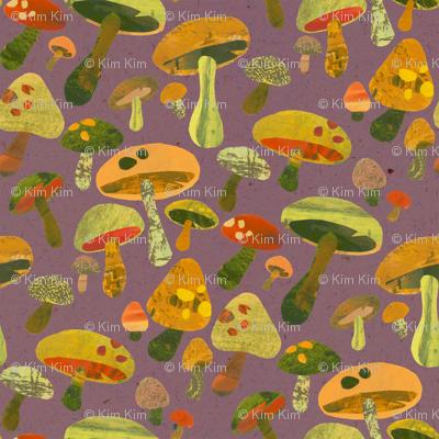 Mushroom Pickin Purple