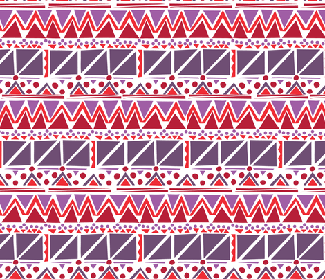 Zip Zap A fabric by luana_life on Spoonflower - custom fabric