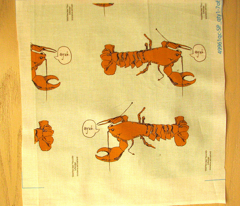 Softshell Maine Lobster Pillow