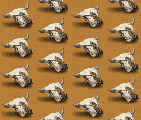 animal_skull fabric by hollishammonds on Spoonflower - custom fabric