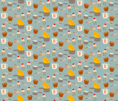 Bakers Pattern fabric by heidikenney on Spoonflower - custom fabric
