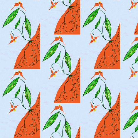 Rooted fabric by nalo_hopkinson on Spoonflower - custom fabric