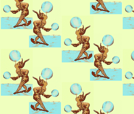Jugglers fabric by nalo_hopkinson on Spoonflower - custom fabric