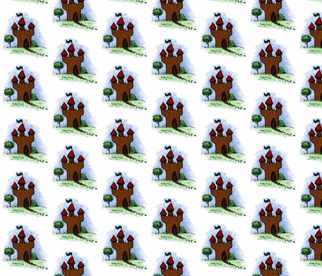 castle 72110 fabric by shout4joyquilter on Spoonflower - custom fabric
