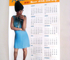 Rula's Rules #147 calendar towel