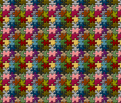PuzzleDeluxe fabric by morellco on Spoonflower - custom fabric