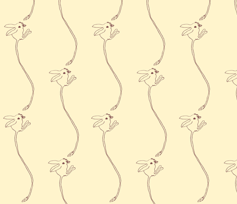 jerboa2-ed fabric by sewslow on Spoonflower - custom fabric