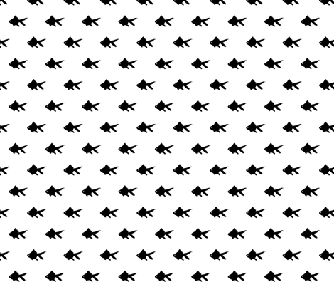 blackfish fabric by zombie_stitch on Spoonflower - custom fabric