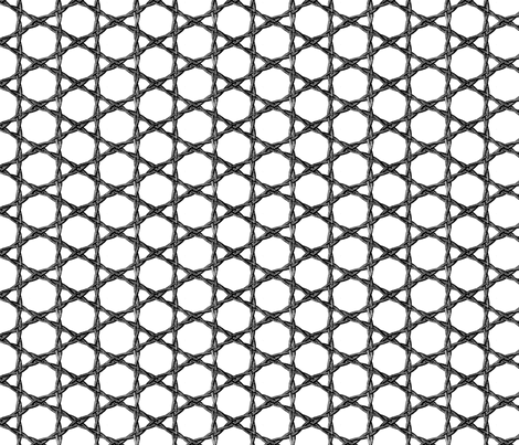 woven metal rope fabric by saltlabs on Spoonflower - custom fabric