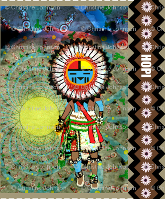 Dance in the Desert of Tawa Kachina-ed