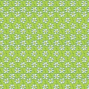Green Daisy Chain © ButterBoo Designs 2010