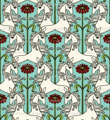 Unicorns & Flowers 4