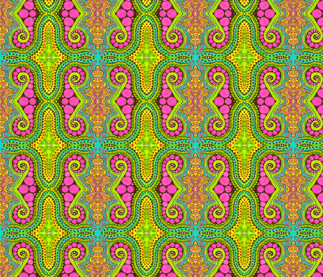 spiced spiral fabric by chelmers on Spoonflower - custom fabric