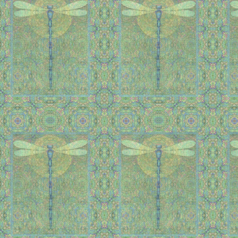 dragonfly-2-_x_3 fabric by vickijenkinsart on Spoonflower - custom fabric