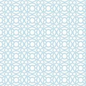 Blue and White Abstract Pattern © ButterBoo Designs 2009