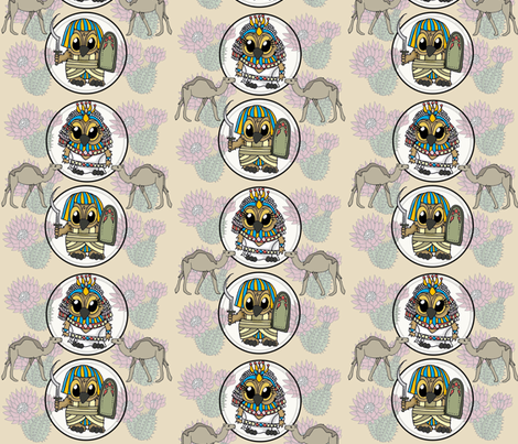 JessicaLynnOriginal Brentwood in the Desert fabric by jessicalynnoriginal on Spoonflower - custom fabric