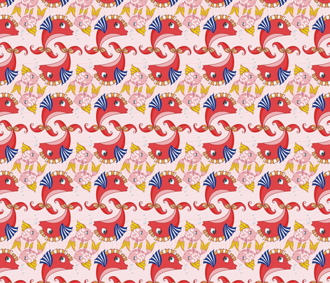 PiscesZodiac fabric by morellco on Spoonflower - custom fabric