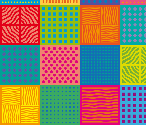 popsquares_3 fabric by jorz on Spoonflower - custom fabric
