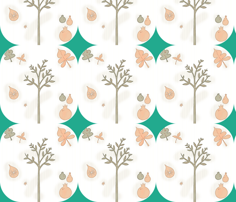 Fall-ed fabric by sewdiva on Spoonflower - custom fabric