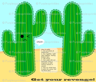 Cactus (Pin) Cushion! (See Description!)