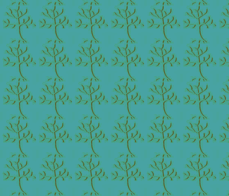 tree-ed fabric by sewdiva on Spoonflower - custom fabric