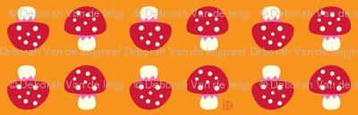 Little Forest Mushrooms
