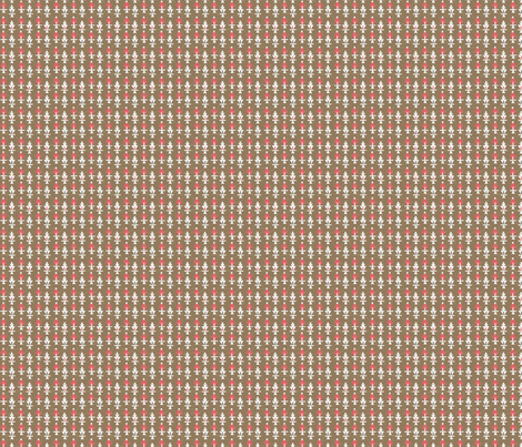 Vintage Brown Red fabric by grammak on Spoonflower - custom fabric