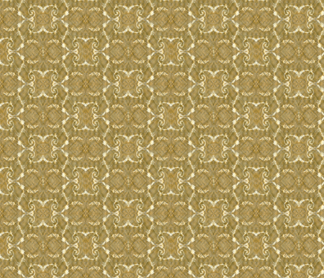 Vintage Brown and White fabric by grammak on Spoonflower - custom fabric
