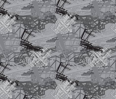 industrial_camo_bw fabric by hollishammonds on Spoonflower - custom fabric