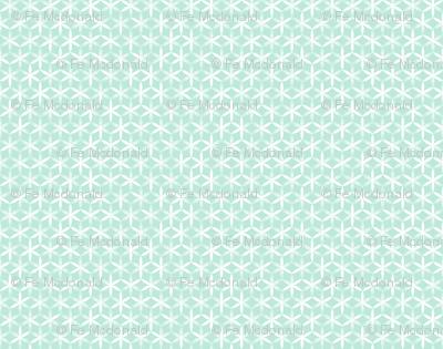 shibori flower circles small j