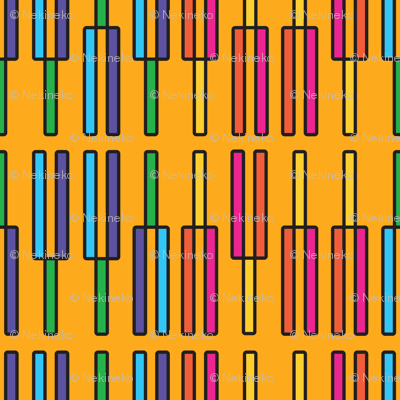 Tuning Forks (Yellow)