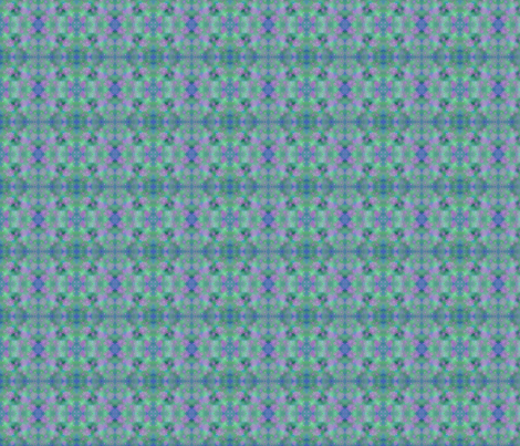 blue-and-green-daisy_s-copy fabric by jellybeanquilter on Spoonflower - custom fabric