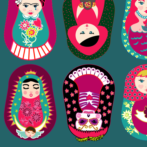 GURUSHKAS_SECOND_EDITION fabric by gurumania on Spoonflower - custom fabric