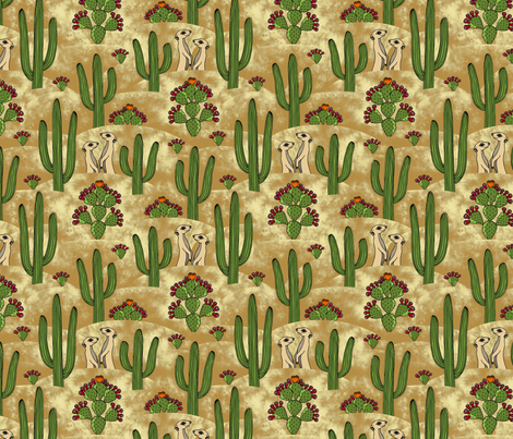 Desert Love fabric by lord-orlando on Spoonflower - custom fabric