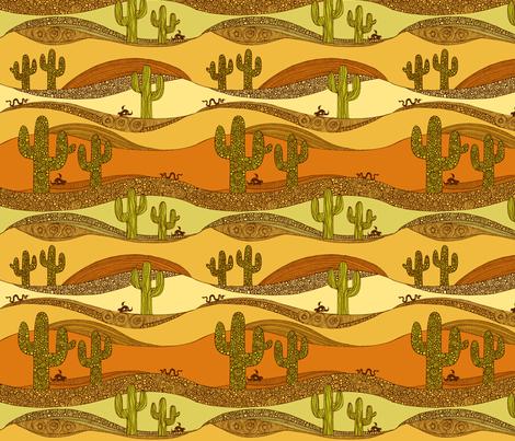 In the desert fabric by valentinaharper on Spoonflower - custom fabric