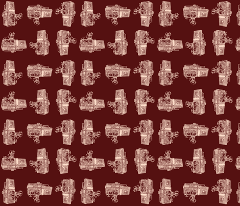 Retro Cameras fabric by dorolimited on Spoonflower - custom fabric