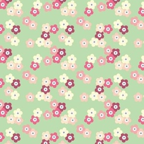 Green Cherry Blossoms © ButterBoo Designs 2010